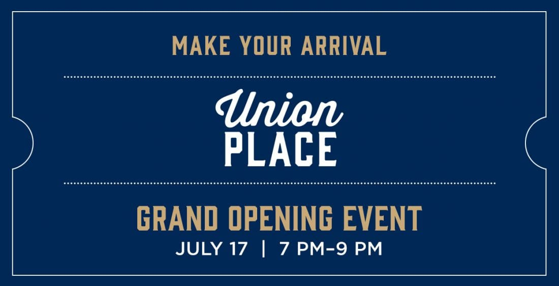 Union Place Grand Opening Event Image